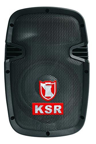 Kaiser MSA-7908BTE Kit de Bafle Amplificador Inalámbrico con Bluetooth y Micrófono, 4,200 W, color negro