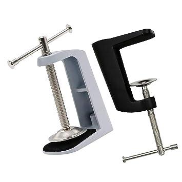MagiDeal Tischklemme Halter Halterung f/ür Tischlampe Schreibtisch Lampe Befestigung