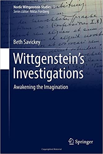 Book Cover for Wittgenstein's Investigations: Awakening the Imagination