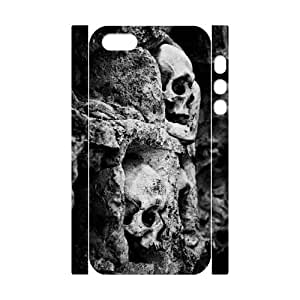 Skull Tree 3D Custom Durable Hard Plastic Case Cover LUQ222877 For Iphone 5,5S