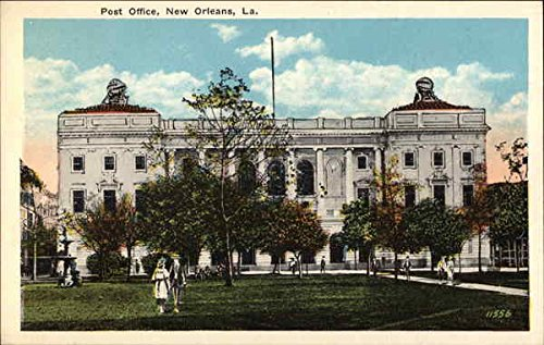- Post Office New Orleans, Louisiana Original Vintage Postcard
