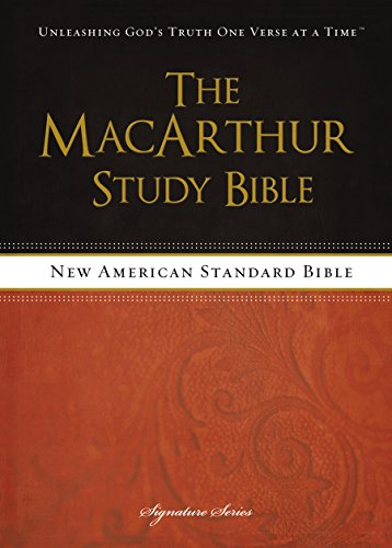 NASB, The MacArthur Study Bible, eBook cover