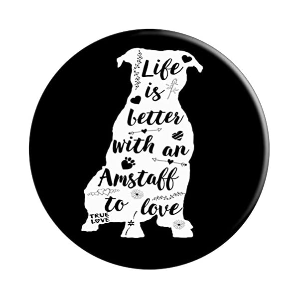 American Staffordshire Terrier Gifts Life Is Better Amstaff 3