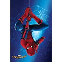 """Spider-Man: Homecoming - Movie Poster / Print (Spidey Hanging Upside Down) (Size: 24"""" x 36"""")"""