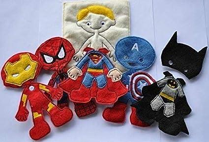 Amazon.com: super hero machine applique embroidery files superman
