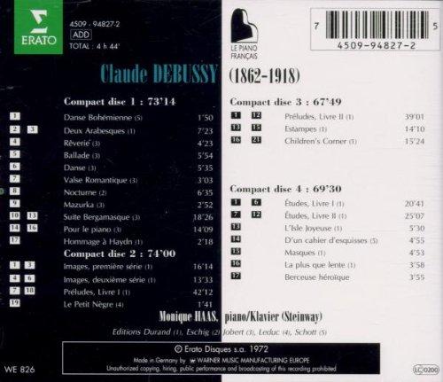 Debussy: L'Oeuvre Pour Piano by Erato