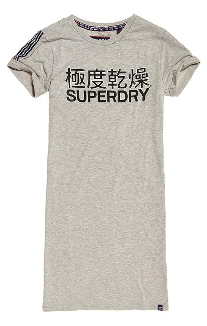 Superdry Damen Portland T/_Shirt Dress Kleid