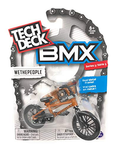 Nozlen Toys Bundle: Tech Deck Series 5 BMX Bikes Set of 4 - WeThePeople and Sunday with Bonus Bag by Nozlen Toys (Image #2)