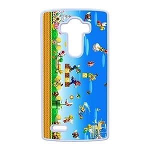 LG G4 phone case White Super Mario Bros FFK8049857