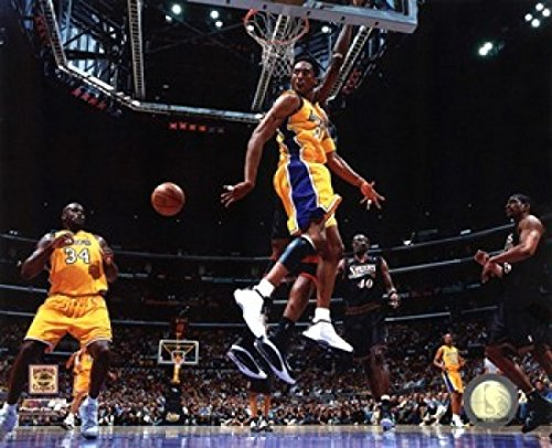 Finals Action Photo - Kobe Bryant & Shaquille ONeal 2001 NBA Finals Action Photo Print (10.00 x 8.00)