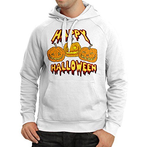 Mal Costume Party City (Hoodie Happy Halloween! Party Outfits & Costume - Gift Idea (Medium White Multi Color))