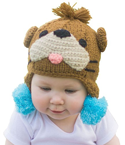 Huggalugs Baby and Toddler Childrens Otter Beanie Hat ()