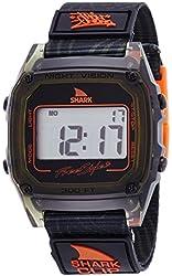 Freestyle Unisex 10019188 Shark Clip Digital Display Japanese Quartz Black Watch