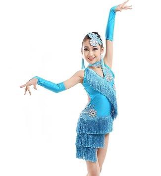 SMACO Traje de Baile Latino para niños, Trajes de Baile ...