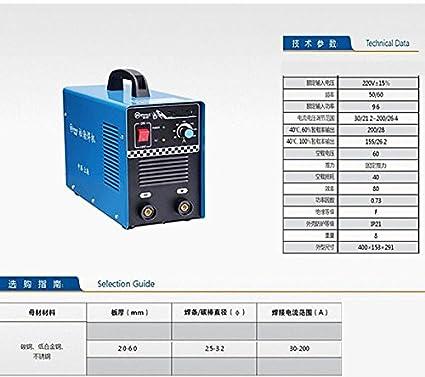GOWE el núcleo de cobre portable pequeña hogar 3,2 larga electrodo soldadura inverter dc