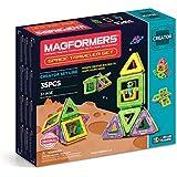 Magformers Space Traveler Set (35 Piece) Magnetic    Building      Blocks, Educational  Magnetic    Tiles Kit , Magnetic    Construction  STEM travel Toy Set