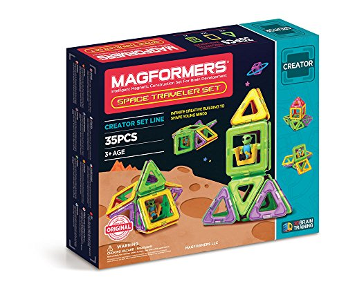 Magformers Traveler Magnetic Educational Construction