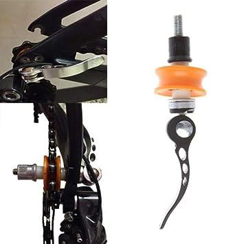 Amyove Bicicleta Cadena Keeper Fix Herramienta de Limpieza Protector de liberación rápida Soporte para Ruedas de Bicicleta: Amazon.es: Deportes y aire libre