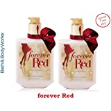 Bath & Body Works Forever Red Body Lotion 10 Oz Lot of 2