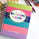 2017-2018 Reminder Binder Planner Calendar Aug 2017 - Dec 2018 Weekly & Monthly Views, Lists, Pockets, 312 Planner Stickers, Teacher Gift, Appointments & Events