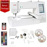 Arts & Crafts : Janome Memory Craft 400E Embroidery Machine with Exclusive Bonus Bundle