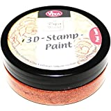 Viva Decor 119390436 3D Stamp Paint, Copper