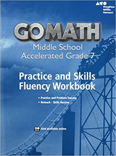 Go math practice fluency workbook accelerated 7 houghton mifflin practice fluency workbook accelerated 7 1st edition by houghton mifflin fandeluxe Gallery