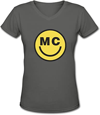 Amazon Com Us Women S Miley Cyrus Smiley Face T Shirt Shirt Clothing