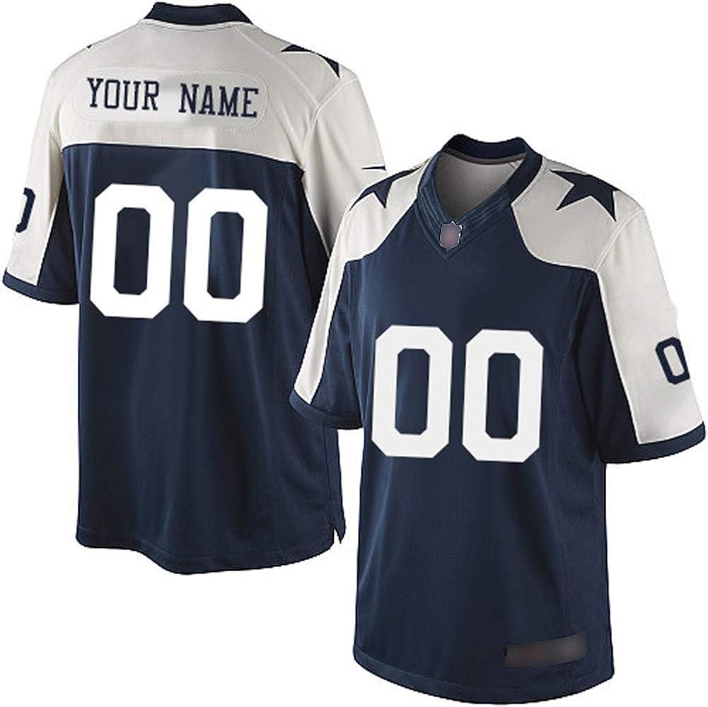 NCNC Camisetas de fútbol Bordadas para Hombres Dallas ...