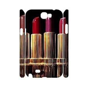Lipstick Customized 3D Cover Case for Samsung Galaxy Note 2 N7100,custom phone case ygtg555705