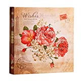Wall Mounted Rope Shop Interstitial Photo Album | Large Mixed Memorial Album Can Store 1110 Photos 35X35X6cm