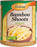 Roland Foods Bamboo Shoots, Strips, 103 Ounce (Pack of 6)