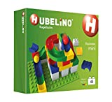 HUBELINO Marble Run - 45-Piece Mini Set - the Original! Made in Germany! - Certified and Award-Winning Marble Run - 100% Duplo Compatible
