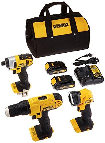 DEWALT DCK340C2 20V Max 3-Tool Combo Kit by DEWALT