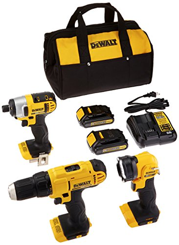 DEWALT DCK340C2 20V 3 Tool Combo