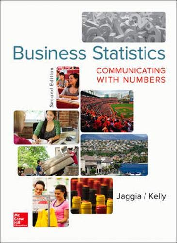 Business Statistics: Communicating with Numbers (Number Of Business Schools In The Us)