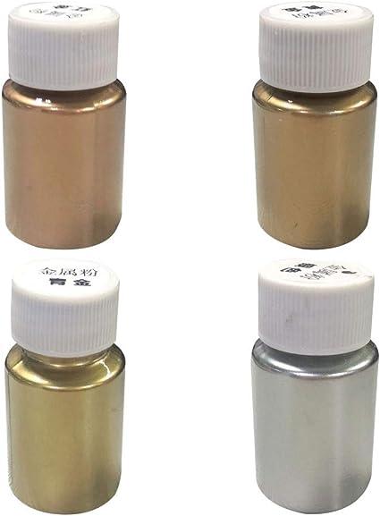 WE-WHLL, Pigmento metálico Brillante de Metal, Perla nacarada ...