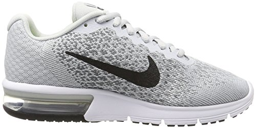 Gris 2 Running Gris Max Froid Air Pur Donna Scarpe Noir Grigio Wmns Sequent Loup Nike Platine qUF1HwR