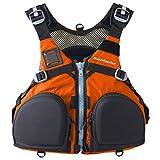 Stohlquist Fisherman Lifejacket (PFD)-Orange-L/XL