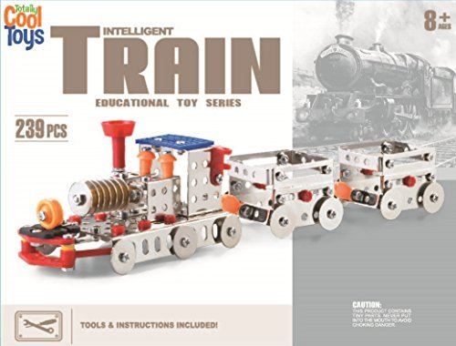 Creative Edcuational Toy Train Made of Metal for Imaginative Play