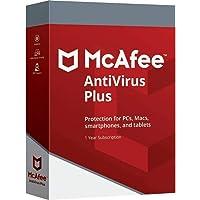 Mcafee Antivirus Plus 2020 10 Dispositivos Suscripcion 1 año / Windows / Mac / Android/ iOS / Smartphones / Oficial Mcafee Partner Spain / Envio tarjeta digital por correo electronico