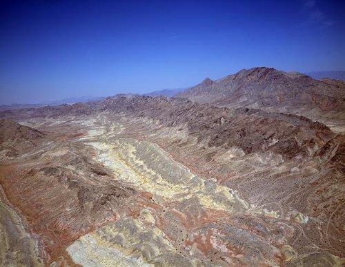 Photo: Barren Desert near Las - Nv Las Vegas South