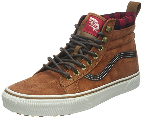Vans VansU SK8 - Pantofole a Stivaletto, Unisex Adulti, Colore Marrone (Glazed Ginger), Taglia EU 39 (US 7)