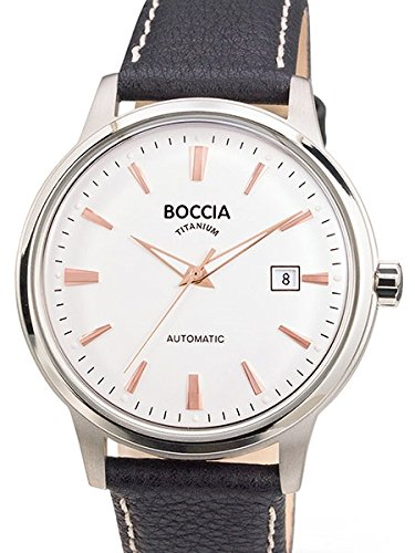 3586-03 Mens Boccia Titanium Automatic Watch