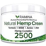 Natural Hemp Extract Pain Relief Cream - 500 Mg - Hemp Salve Contains