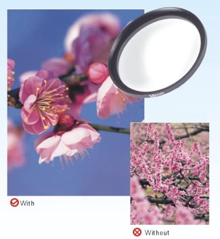 Samsung Panasonic Pentax Olympus Nikon Fujifilm Camera Sony DynaSun 62mm Slim Camera Lens Macro Close Up Filter for Canon