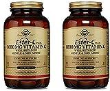 vit c 1000 mg solgar - Solgar - Ester-C Plus Vitamin C (Ester-C Ascorbate Complex) 1000 mg, 180 Tablets x 2