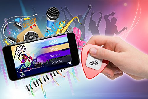 AirJamz-App-Enabled-Bluetooth-Music-Toy-Electric-Air-Guitar-and-more-for-your-iOS-or-Android-Mobile-Phone-or-Tablet-Black-Powered-by-Zivix