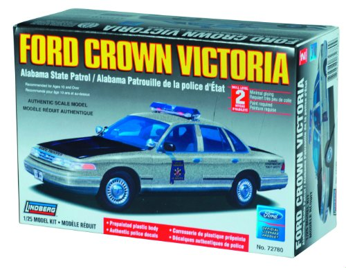 (Lindberg 1:25 Scale Ford Crown Victoria Alabama State Police)