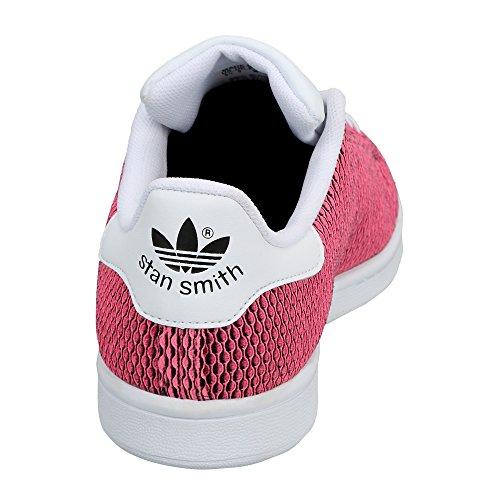 adidas Originals Mädchen Stan Smith CF Sportschuhe Rosa